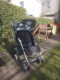 McClaren Techno XLR stroller brown/blue