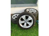 BMW X5 alloys and tyres