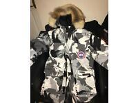 Canada goose expedition jacket coat