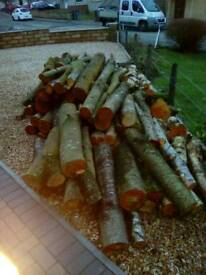 Split logs for sale