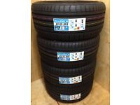 """4 X 19"""" BRAND NEW ACCELERA ALL SEASON TYRES 255/35R19 96Y 255 35 19 AUDI 6 (FREE MOBILE FITTING)"""