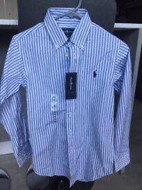 Ralph Lauren shirt - brand new - age 10.