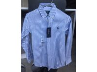 Ralph Lauren shirt - brand new - age 10.