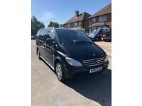 2008 Mercdes Vito 111CDi Manual 6 speed LWB 9 seater excellent condition