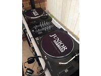 Technics sl1210 mk2 turntables pair
