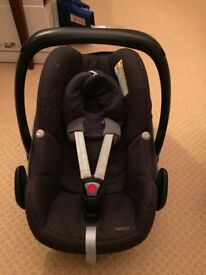 Maxi Cosi baby carrier. No accident. From a smoke and pet free home.