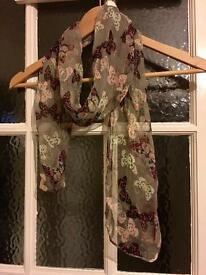 Accessorize Butterfly Scarf