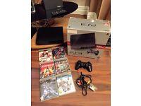 PS3 320gb Slim + 6 Games - Boxed