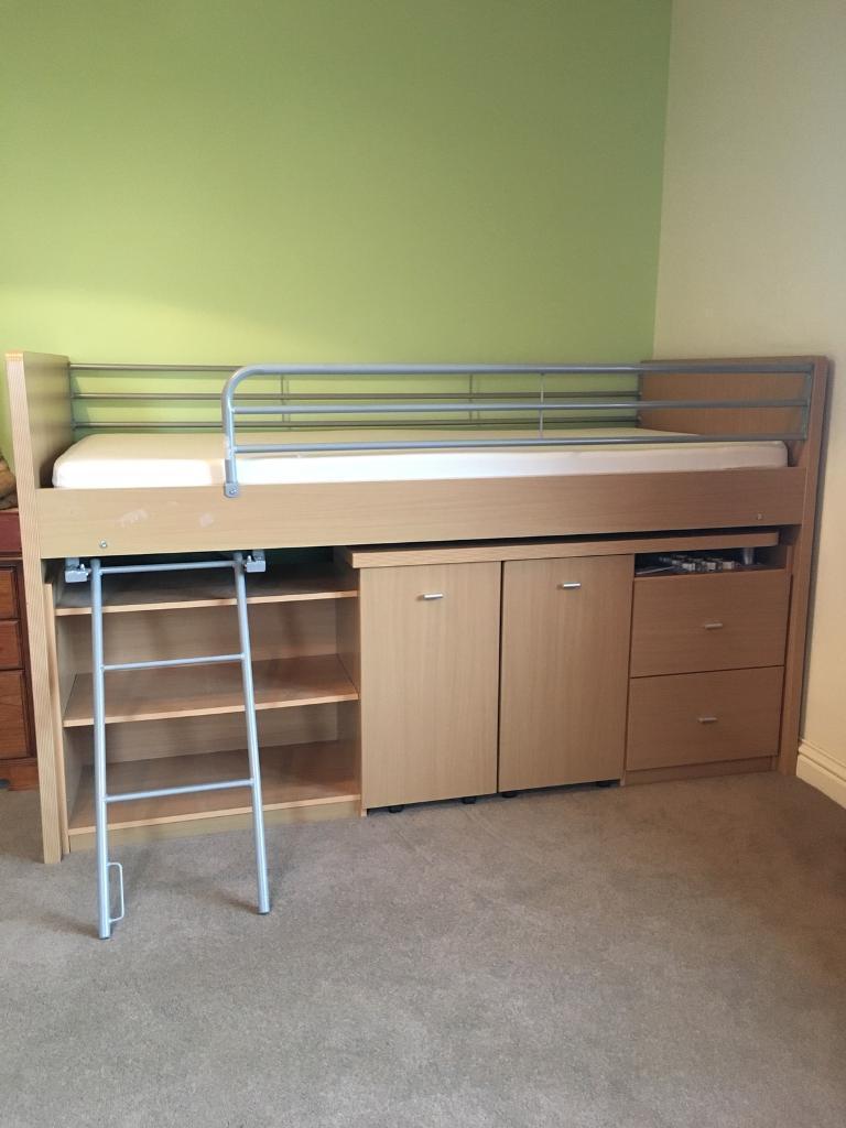 Dreams Mid Sleeper Cabin Bed In Penicuik Midlothian
