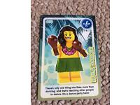Lego card hula dancer number 137