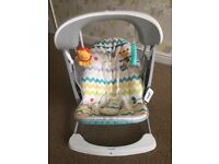 Fisher price safari swing and bouncer