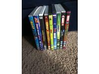 Kids dvd bundle including avengers and scooby doo
