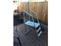 Portable Ladder Work Platform