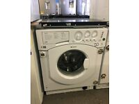 HOTPOINT Aquarius BHWM1492 Integrated Washing Machine - White
