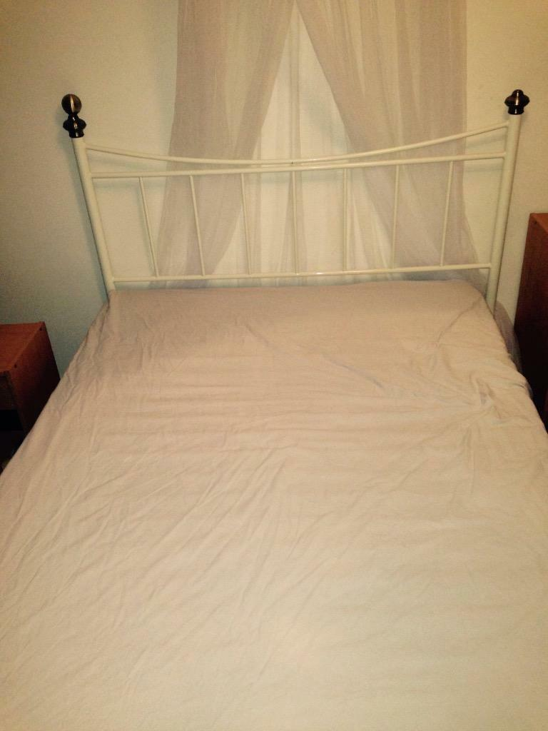 White Double Bed For Sale In Richmond London Gumtree