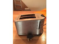 Used toaster, in good working order, free to collect