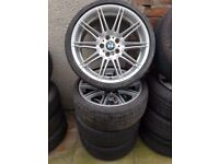 Bmw Mv4 Alloy Wheels 19'' Can Post Can Sell Singles Non Staggered Part Exchange Welcome