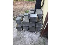 Free edging blocks