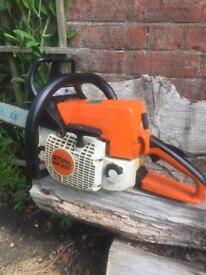 "Stihl ms 250 16"" chainsaw"