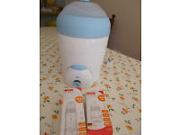 Nuk steriliser and two bottles