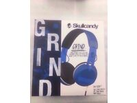 SKULLCANDY GRIND WIRED HEADPHONES WITH RECEIPT
