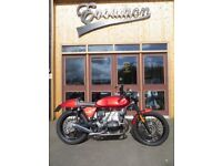 EVOLUTION MOTOR WORKS - 1984 BMW100RS Café Racer. This bike is in EXCELLENT condition.