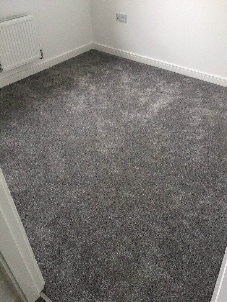 Brand new Grey Carpet 3.5x2.8m