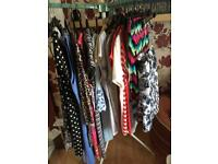 Mixture of women's clothes sizes 14-16