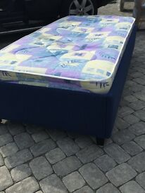 BRAND NEW single bed plus mattress - £100