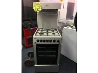 BEKO 50CM ALL GAS HIGH LEVEL COOKER IN SILIVER