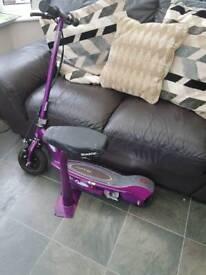 Electric scooter (razor e100s)