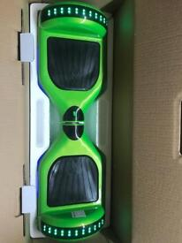 GREEN SEGWAY WITH BLUETOOTH SPEAKER