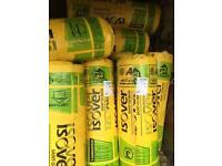 Loft insulation rolls 10 for £90