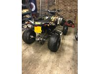 **Can-Am DS 450 X road legal quad **