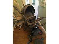 Stokke Pram with winter kit and much more