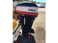 Boats. Yamaha 55hp outboard With Controls.