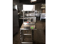 CATERING EQUIPMENT - TABLE WITH SHELF 70X90XH:90CM