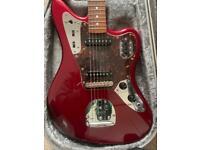 Fender Jaguar 2004 CIJ Dark Candy Apple Red