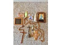 Religious Memorabilia Job Lot For Sale
