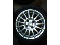 Fiesta Zetec S Alloy Wheels