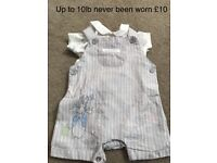 Baby Peter rabbit outfits