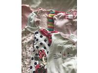 3-6m baby grows