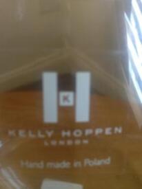 Kelly Hoppen designer glass vase