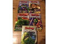 Complete set of 5 'Goosebumps' books. Horrorland series. Excellent condition