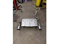 Vauxhall corsa sport/vxr rear silencer