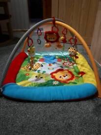 Mothercare baby safari playmat