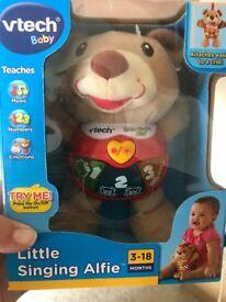 Vtech singing little Alfie bear