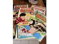 100 Vintage Beano comics