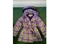 Girls coat size 7 y.o.