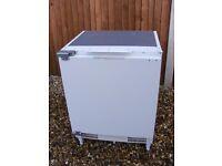 Fridge Integrated Refrigerator Candy Brand new ex display under counter kitchen worktop £100